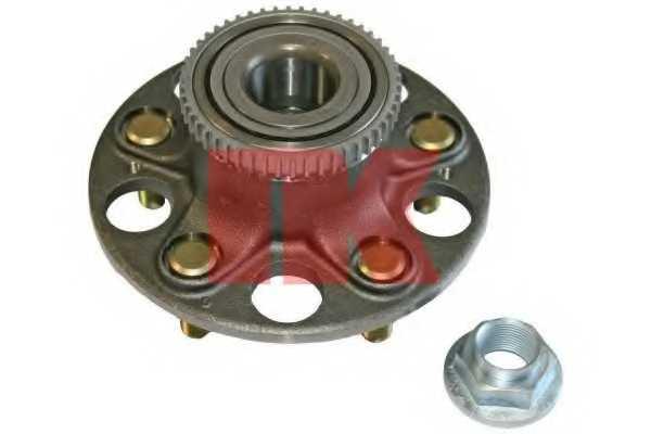 Комплект подшипника ступицы колеса NK 762628 - изображение