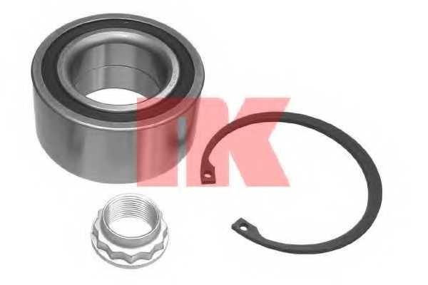 Комплект подшипника ступицы колеса NK 763306 - изображение