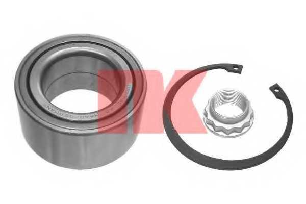 Комплект подшипника ступицы колеса NK 763307 - изображение