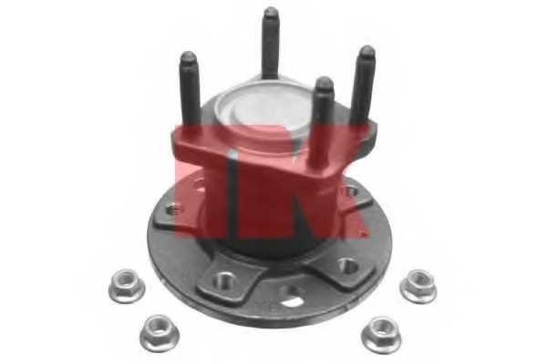 Комплект подшипника ступицы колеса NK 763616 - изображение