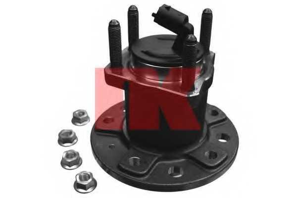 Комплект подшипника ступицы колеса NK 763623 - изображение