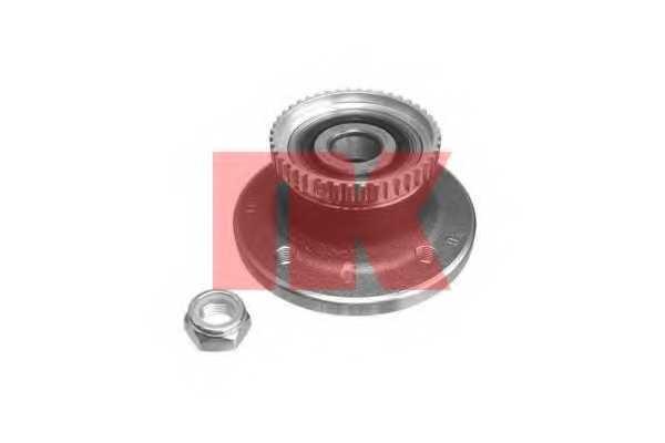 Комплект подшипника ступицы колеса NK 763936 - изображение