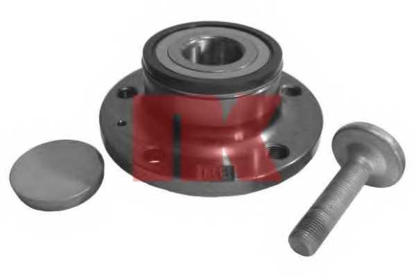 Комплект подшипника ступицы колеса NK 764305 - изображение