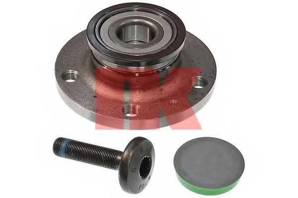 Комплект подшипника ступицы колеса NK 764306 - изображение