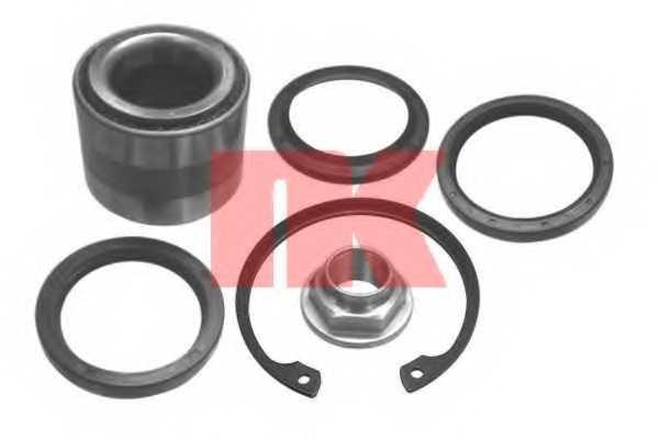Комплект подшипника ступицы колеса NK 764401 - изображение