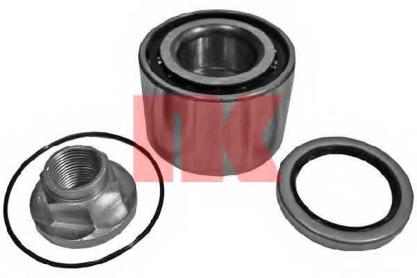 Комплект подшипника ступицы колеса NK 764505 - изображение