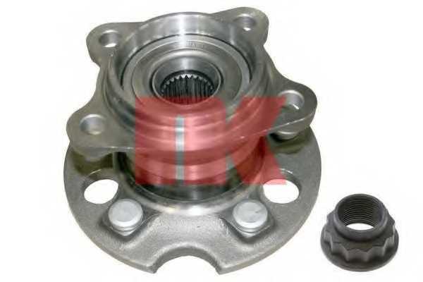 Комплект подшипника ступицы колеса NK 764553 - изображение