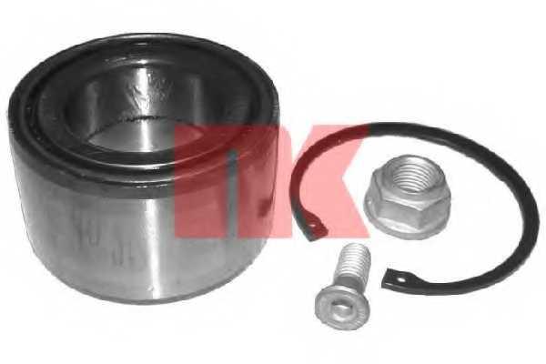 Комплект подшипника ступицы колеса NK 764726 - изображение