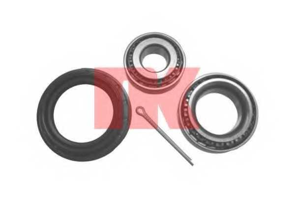 Комплект подшипника ступицы колеса NK 765002 - изображение