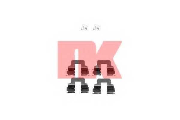 Комплектующие колодок дискового тормоза NK 7910245 - изображение
