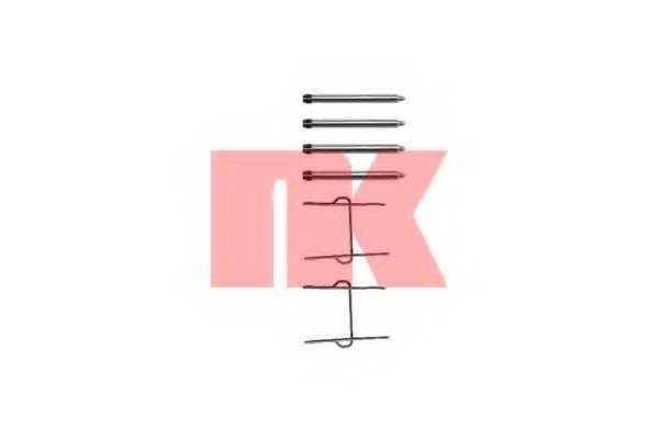 Комплектующие колодок дискового тормоза NK 7919081 - изображение
