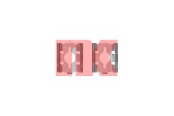 Комплектующие колодок дискового тормоза NK 7919600 - изображение