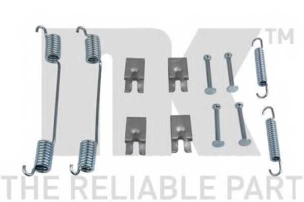 Комплектующие тормозной колодки NK 7919836 - изображение