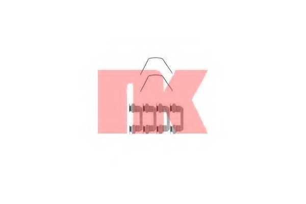 Комплектующие колодок дискового тормоза NK 79221789 - изображение