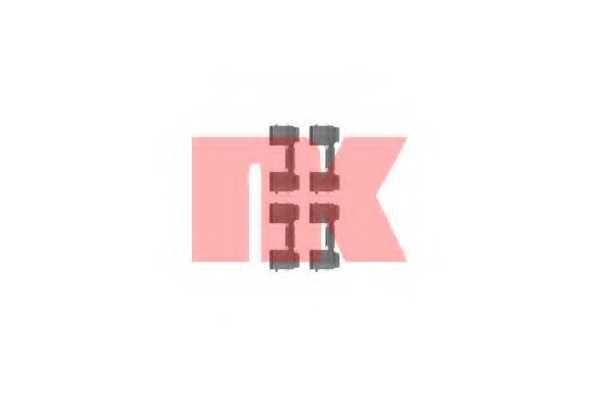 Комплектующие колодок дискового тормоза NK 79231726 - изображение