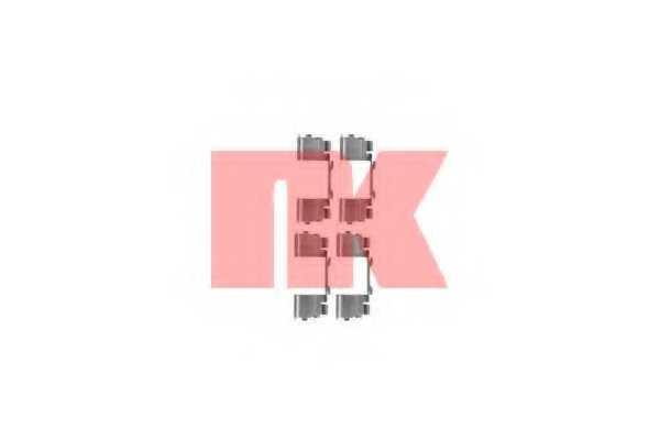 Комплектующие колодок дискового тормоза NK 79231730 - изображение