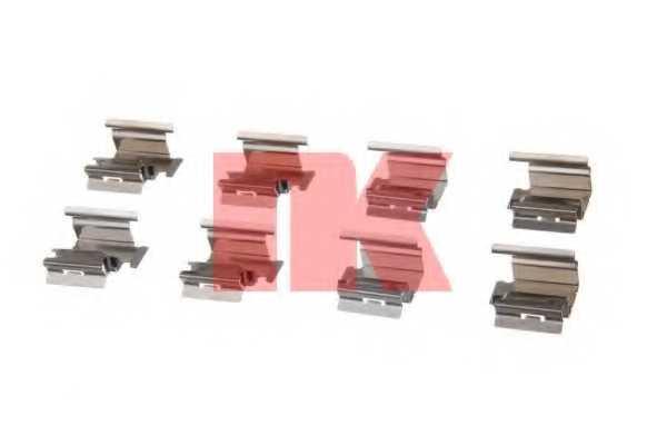 Комплектующие колодок дискового тормоза NK 7923218 - изображение
