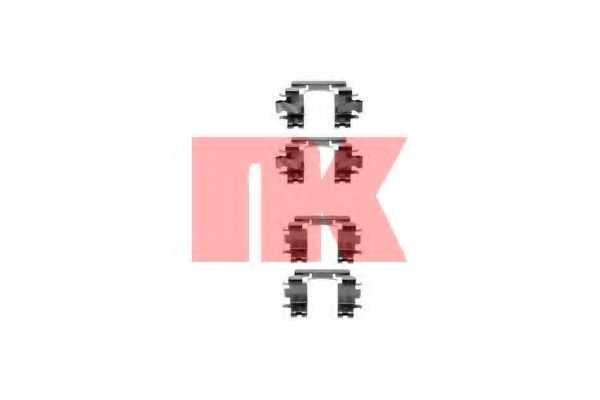 Комплектующие колодок дискового тормоза NK 7923257 - изображение