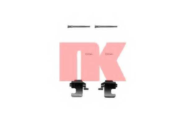 Комплектующие колодок дискового тормоза NK 7923273 - изображение