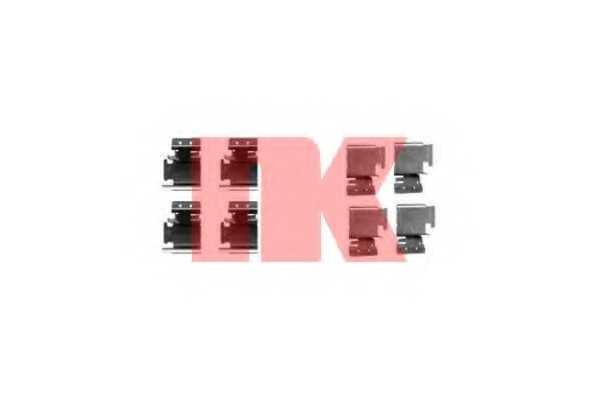 Комплектующие колодок дискового тормоза NK 7923298 - изображение
