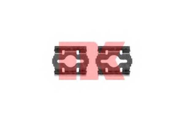 Комплектующие колодок дискового тормоза NK 7923657 - изображение