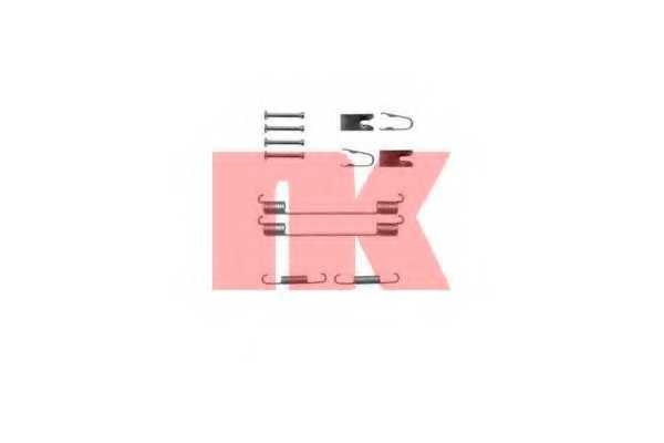 Комплектующие тормозной колодки NK 7923883 - изображение