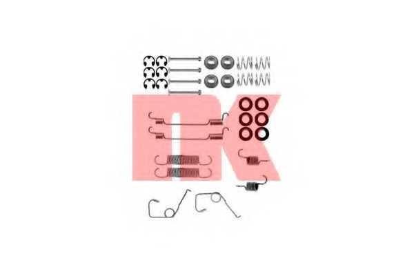 Комплектующие тормозной колодки NK 7925705 - изображение