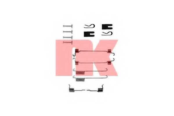 Комплектующие тормозной колодки NK 7925772 - изображение