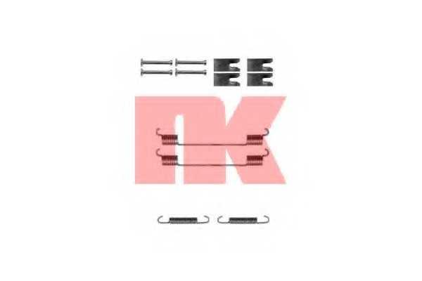 Комплектующие тормозной колодки NK 7925814 - изображение