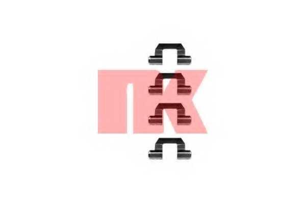 Комплектующие колодок дискового тормоза NK 7930077 - изображение