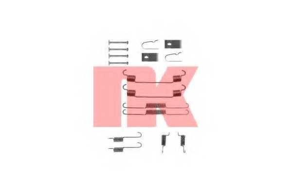 Комплектующие тормозной колодки NK 7932675 - изображение