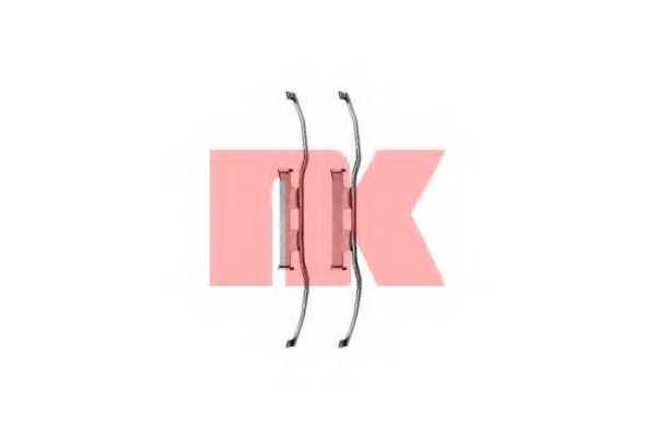Комплектующие колодок дискового тормоза NK 7933213 - изображение
