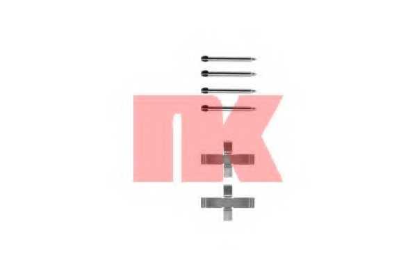 Комплектующие колодок дискового тормоза NK 7936076 - изображение