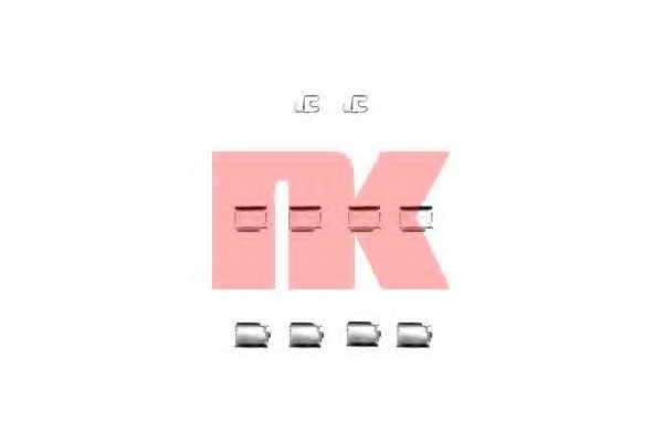 Комплектующие колодок дискового тормоза NK 7936246 - изображение