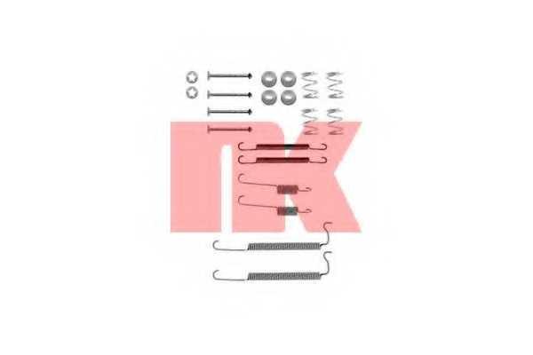 Комплектующие тормозной колодки NK 7936629 - изображение