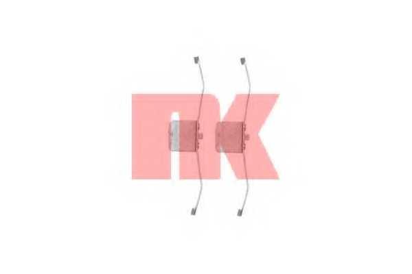 Комплектующие колодок дискового тормоза NK 7936639 - изображение