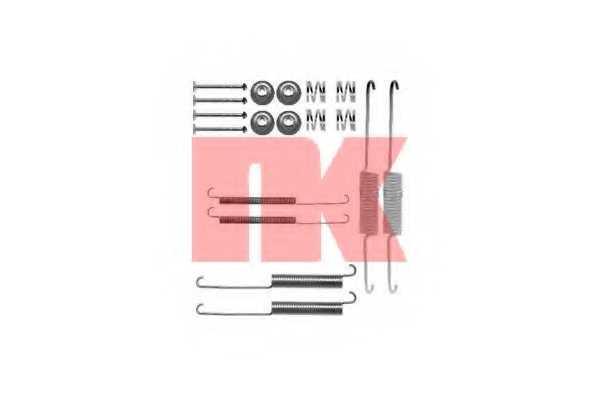 Комплектующие тормозной колодки NK 7936758 - изображение