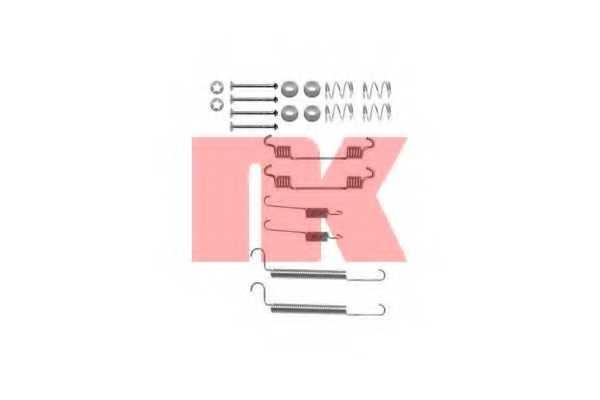 Комплектующие тормозной колодки NK 7936766 - изображение