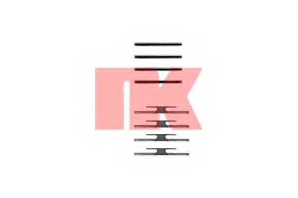 Комплектующие колодок дискового тормоза NK 7936975 - изображение