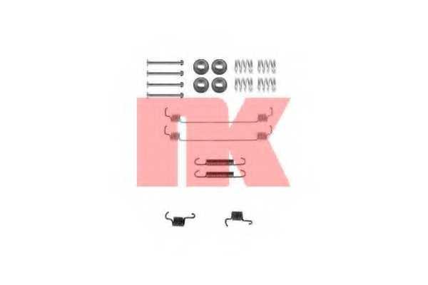 Комплектующие тормозной колодки NK 7939777 - изображение