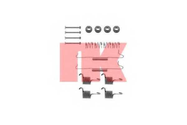 Комплектующие тормозной колодки NK 7947531 - изображение