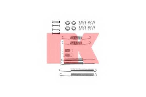 Комплектующие тормозной колодки NK 7947598 - изображение