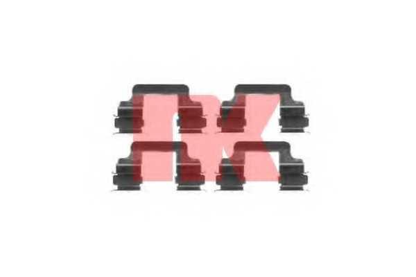 Комплектующие колодок дискового тормоза NK 7947610 - изображение