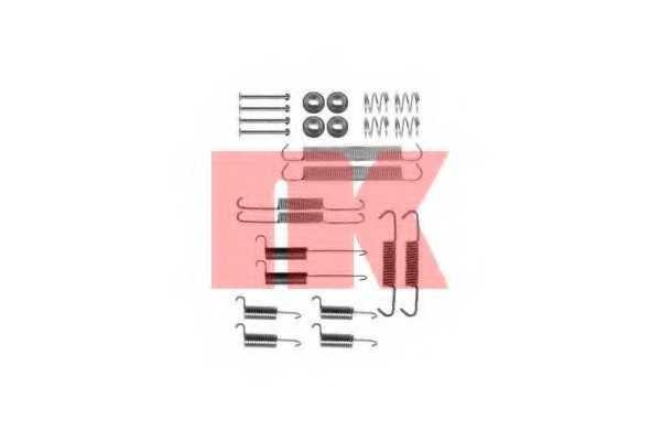 Комплектующие тормозной колодки NK 7947712 - изображение