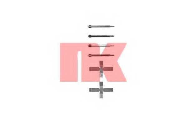 Комплектующие колодок дискового тормоза NK 7948980 - изображение