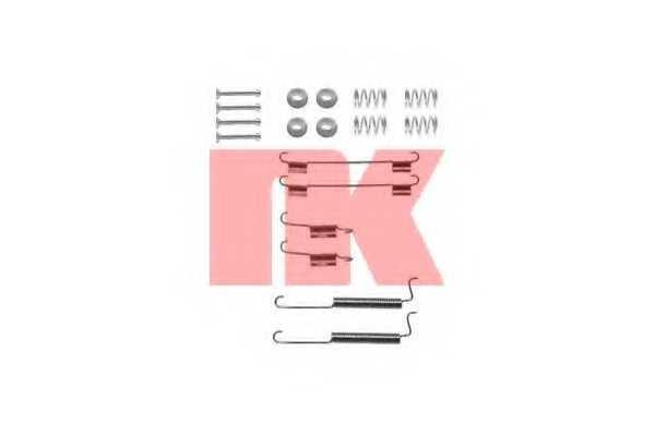 Комплектующие тормозной колодки NK 7950795 - изображение