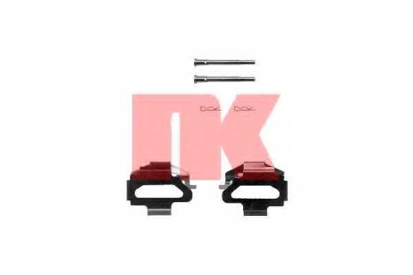 Комплектующие колодок дискового тормоза NK 7999141 - изображение