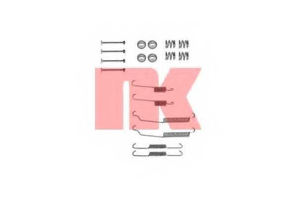 Комплектующие тормозной колодки NK 7999618 - изображение