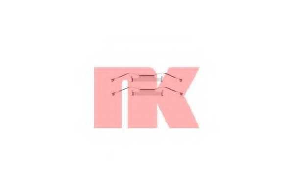 Комплектующие колодок дискового тормоза NK 7999680 - изображение