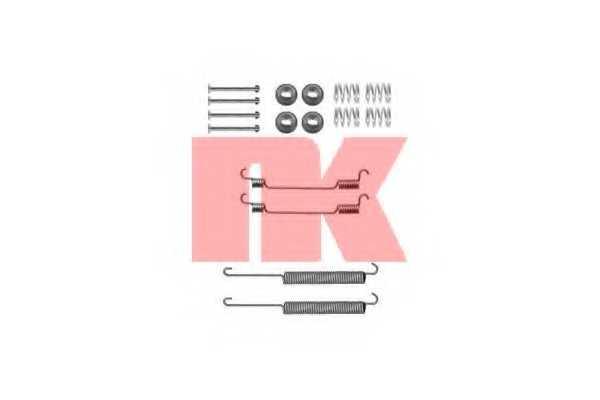 Комплектующие тормозной колодки NK 7999806 - изображение